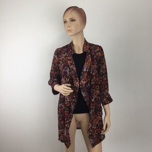 Mm Couture By Miss Me Kimono Cardigan Small